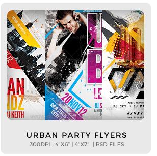 Urban Legendz Party Flyer - 15