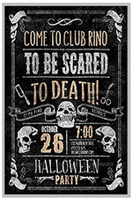 """8.5""""x11"""" Event Flyer in two colors - 76"""