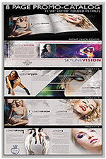 """8.5""""x11"""" Event Flyer in two colors - 85"""