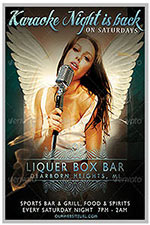 """8.5""""x11"""" Event Flyer in two colors - 93"""