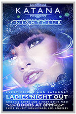 """8.5""""x11"""" Event Flyer in two colors - 115"""
