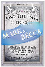 """8.5""""x11"""" Event Flyer in two colors - 128"""
