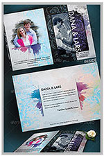 """8.5""""x11"""" Event Flyer in two colors - 137"""