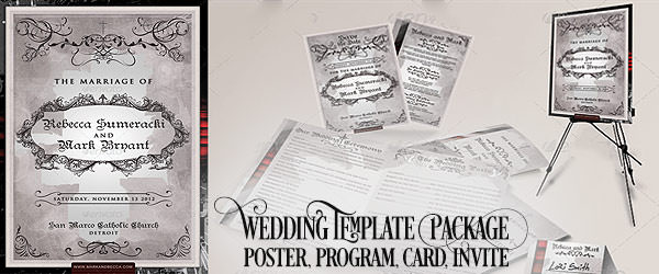 """8.5""""x11"""" Event Flyer in two colors - 159"""