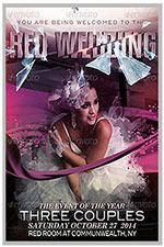 """8.5""""x11"""" Event Flyer in two colors - 171"""