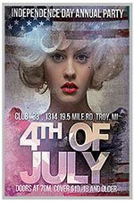 """8.5""""x11"""" Event Flyer in two colors - 191"""