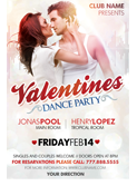Valentines Traffic Light Party Flyer + FB Cover - 136