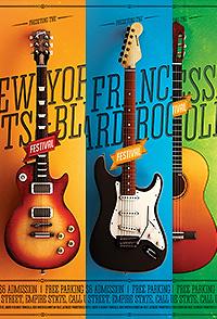 Rock Festival Guitars