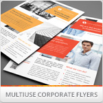 Multipurpose Corporate Flyers, Magazine Ads vol. 4
