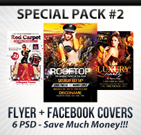 Valentines Traffic Light Party Flyer + FB Cover - 15