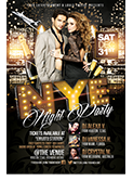 Valentines Traffic Light Party Flyer + FB Cover - 60