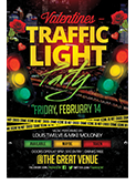 Valentines Traffic Light Party Flyer + FB Cover - 90