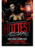 Valentines Traffic Light Party Flyer + FB Cover - 95