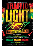 Valentines Traffic Light Party Flyer + FB Cover - 98