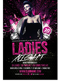 Valentines Traffic Light Party Flyer + FB Cover - 99