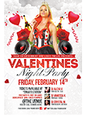 Valentines Traffic Light Party Flyer + FB Cover - 126