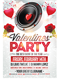 Valentines Traffic Light Party Flyer + FB Cover - 129