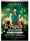 Valentines Traffic Light Party Flyer + FB Cover - 131
