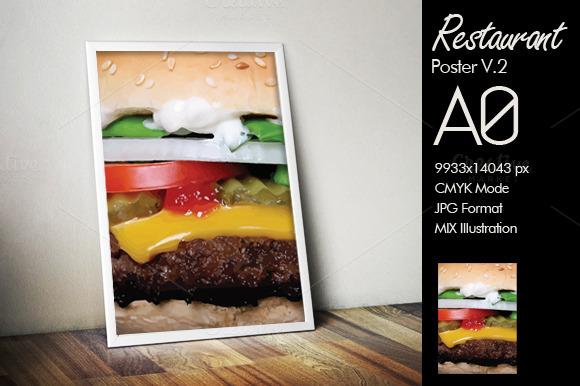 Hambuerger A0 Poster