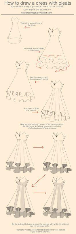Draw pattern como se fazer uma saia codesign for Como criar peces koi