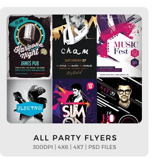 Urban Legendz Party Flyer - 1
