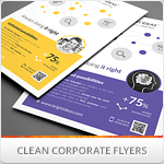 Clean Minimal Multipurpose Flyers vol. 1