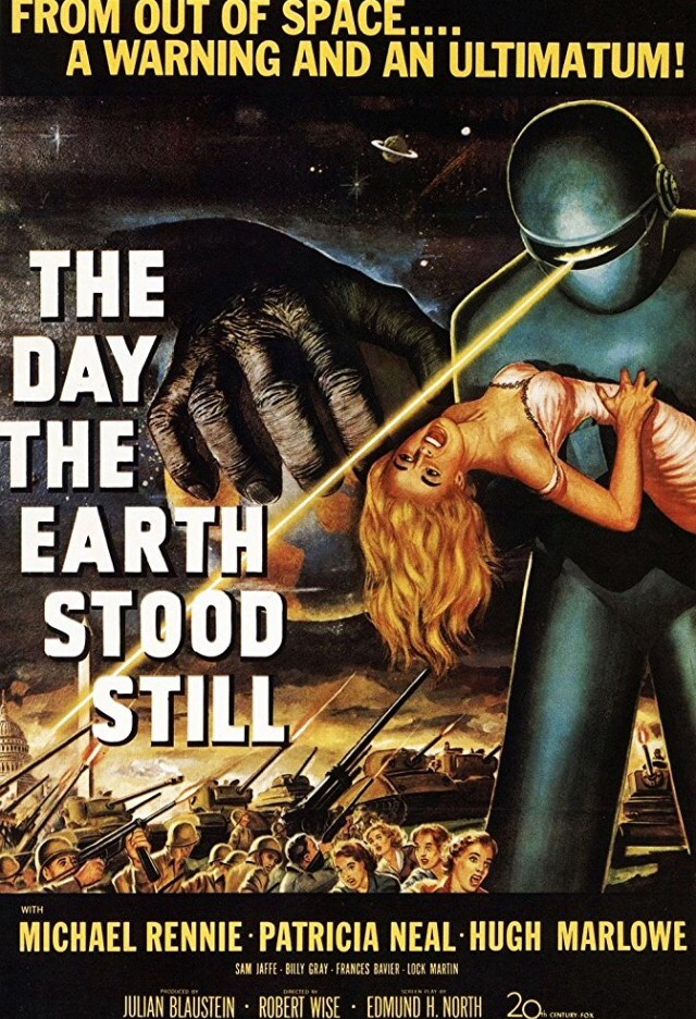 Movie Posters : The Day the Earth Stood Still (1951) dir ...