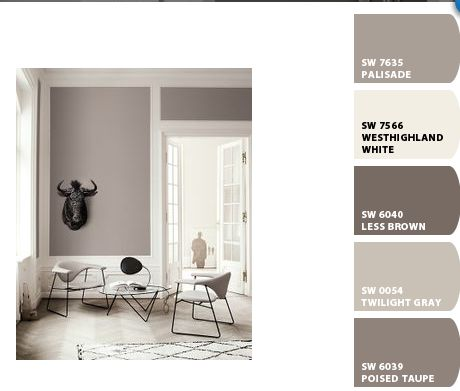 Color inspiration sherwin williams paint colors using for Sherwin williams color of the month october 2017