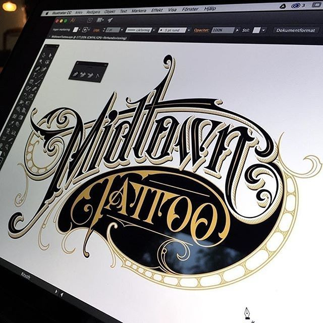 Typography tattoo forever by christian schmetzer for Christian tattoo shop