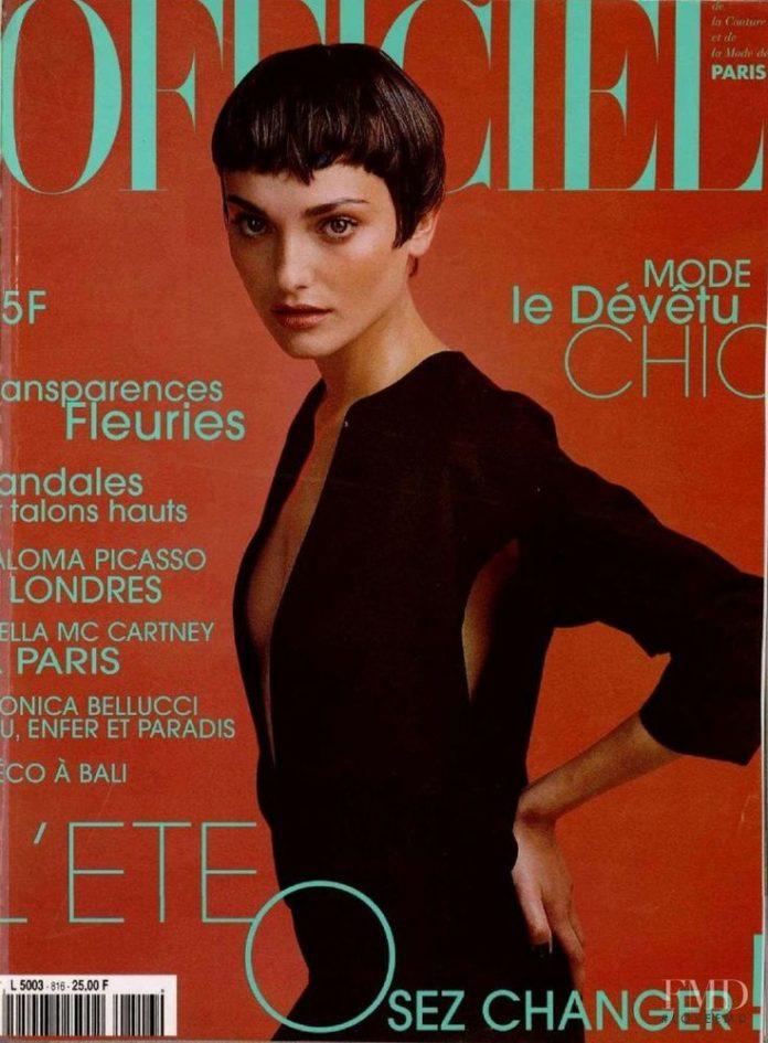 best cover magazine cover of l 39 officiel france june 1997 laura ponte codesign magazine. Black Bedroom Furniture Sets. Home Design Ideas
