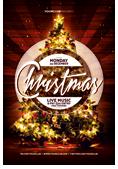 Christmas and New Year Flyer Bundle - 7