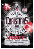 Christmas and New Year Flyer Bundle - 3