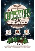 Christmas and New Year Flyer Bundle - 10