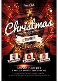 Christmas and New Year Flyer Bundle - 9