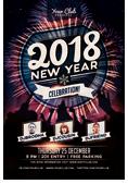 Christmas and New Year Flyer Bundle - 19