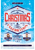 Christmas and New Year Flyer Bundle - 21
