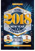 Christmas and New Year Flyer Bundle - 40