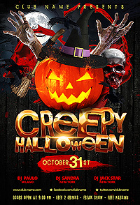 Halloween Flyer - 26