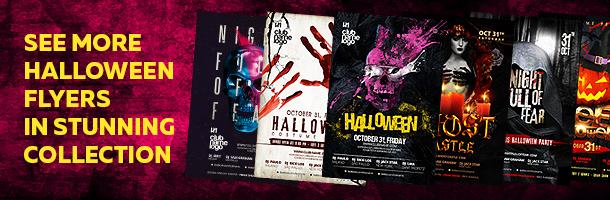 Halloween Flyer - 29