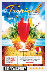 Birthday Party Flyer Template - 2