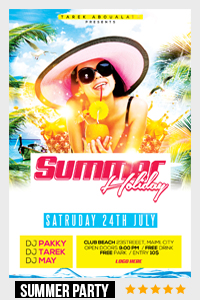 Birthday Party Flyer Template - 5