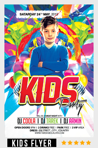 Birthday Party Flyer Template - 8