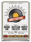 Indie Week Flyer/Poster - 13