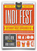 Indie Week Flyer/Poster - 14