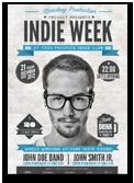 Indie Week Flyer/Poster - 25