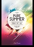 Pure Summer Flyer