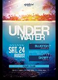 Underwater Party Flyer