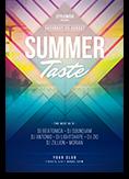 Summer Taste Flyer