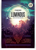 Luminous Party Flyer