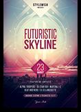 Futuristic Skyline Flyer